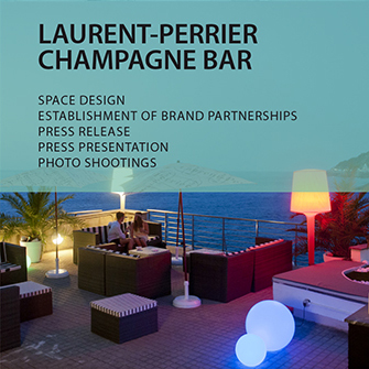 LAURENT-PERRIER CHAMPAGNE BAR